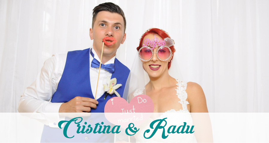 Photo Booth nunta Cristina & Radu