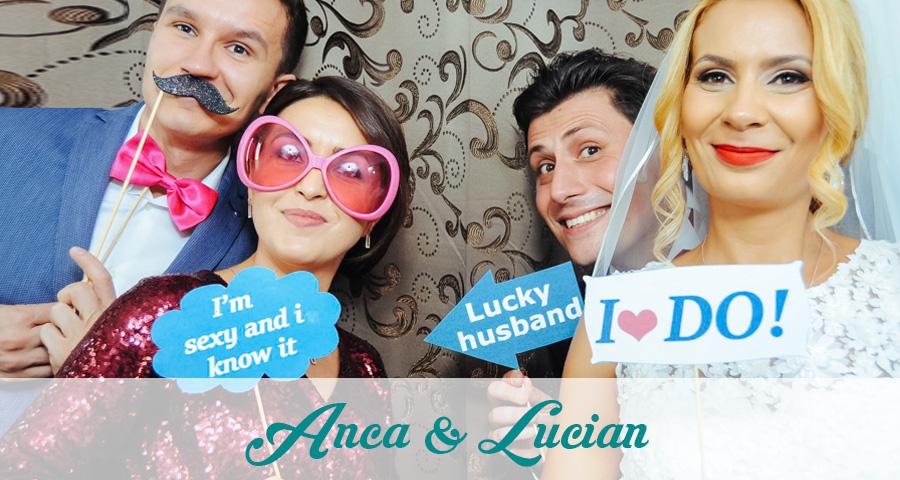 Photo Booth - Cabina foto Craiova - Nunta Anca si Lucian