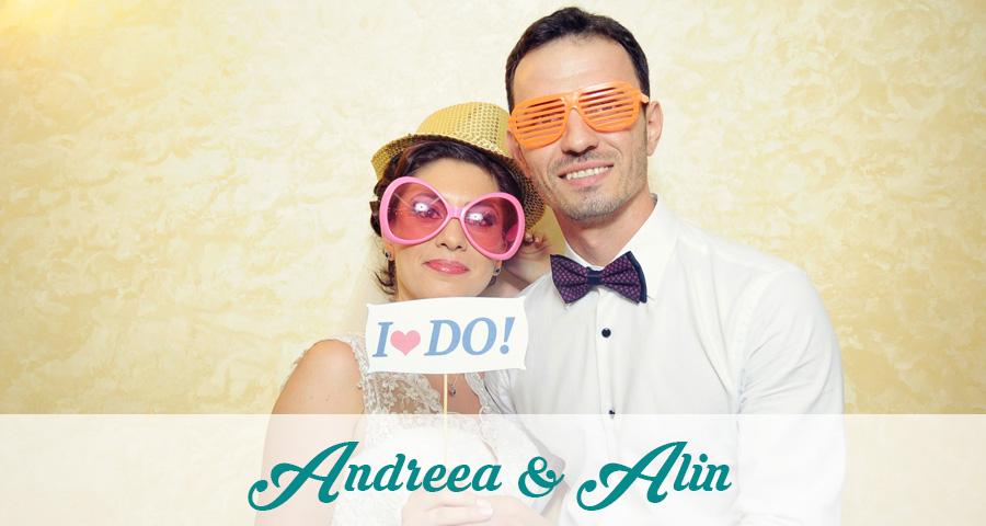 Photo Booth Craiova, cabina foto nunta Andreea & Alin