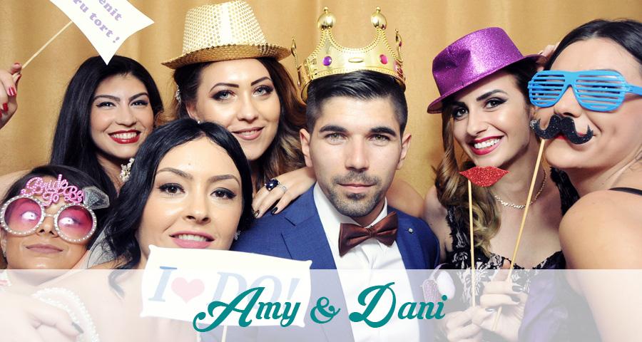 Photo Booth nunta Amy & Dani