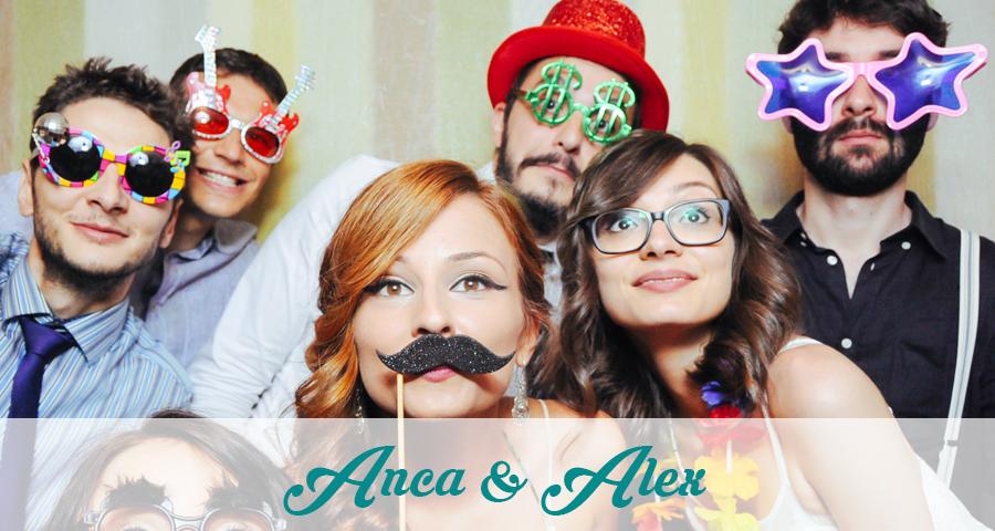 Photo Booth - Cabina foto Craiova - Nunta Anca si Alex
