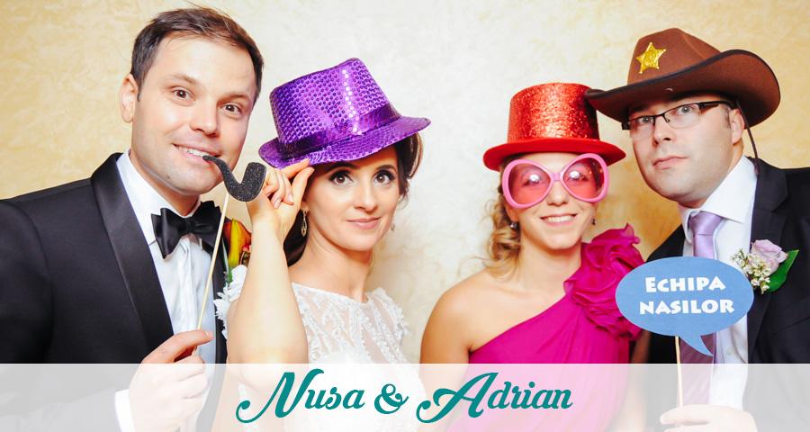 Photo Booth - Cabina foto Craiova - Nunta Nusa & Adrian