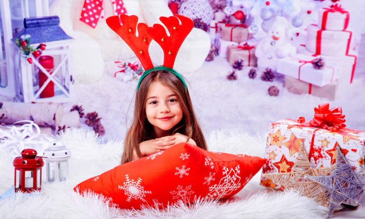 Sedinta foto de craciun pentru copii, studio foto craiova