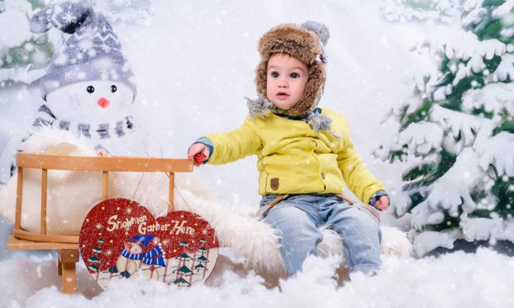 Sedinta foto pentru copii de iarna