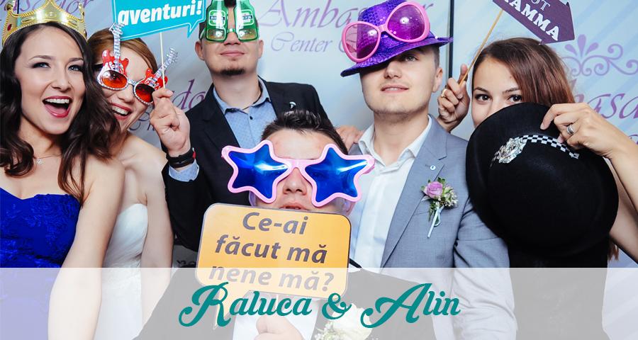 Cabina foto Craiova de inchiriat - Nunta Raluca si Alin