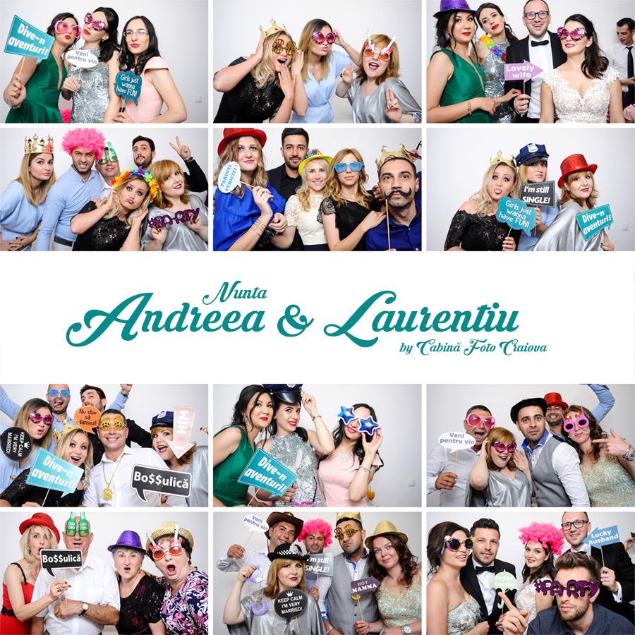 Cabina Foto de inchiriat Craiova - Nunta Andreea & Laurentiu