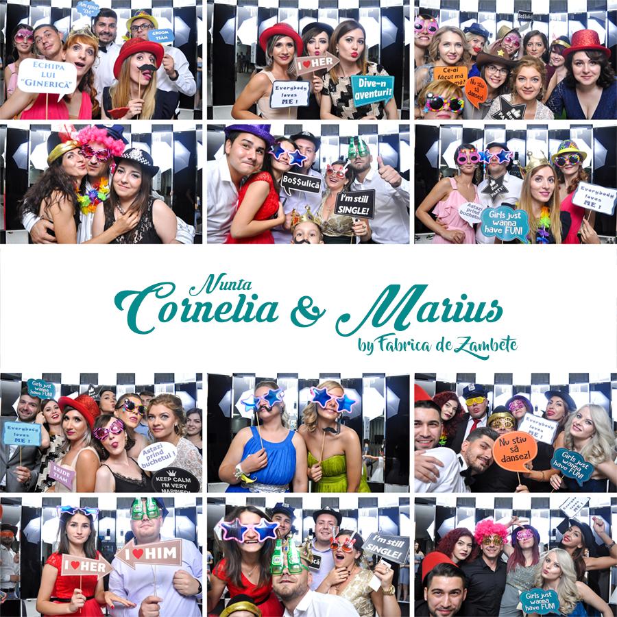 Cabina foto de inchiriat nunta Craiova Cornelia&Marius - Fabrica de zambete