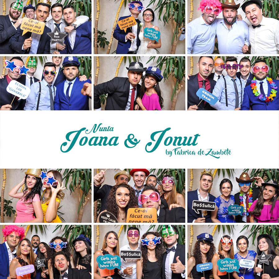 Cabina foto de inchiriat nunta Craiova Ioana si Ionut - Fabrica de zambete