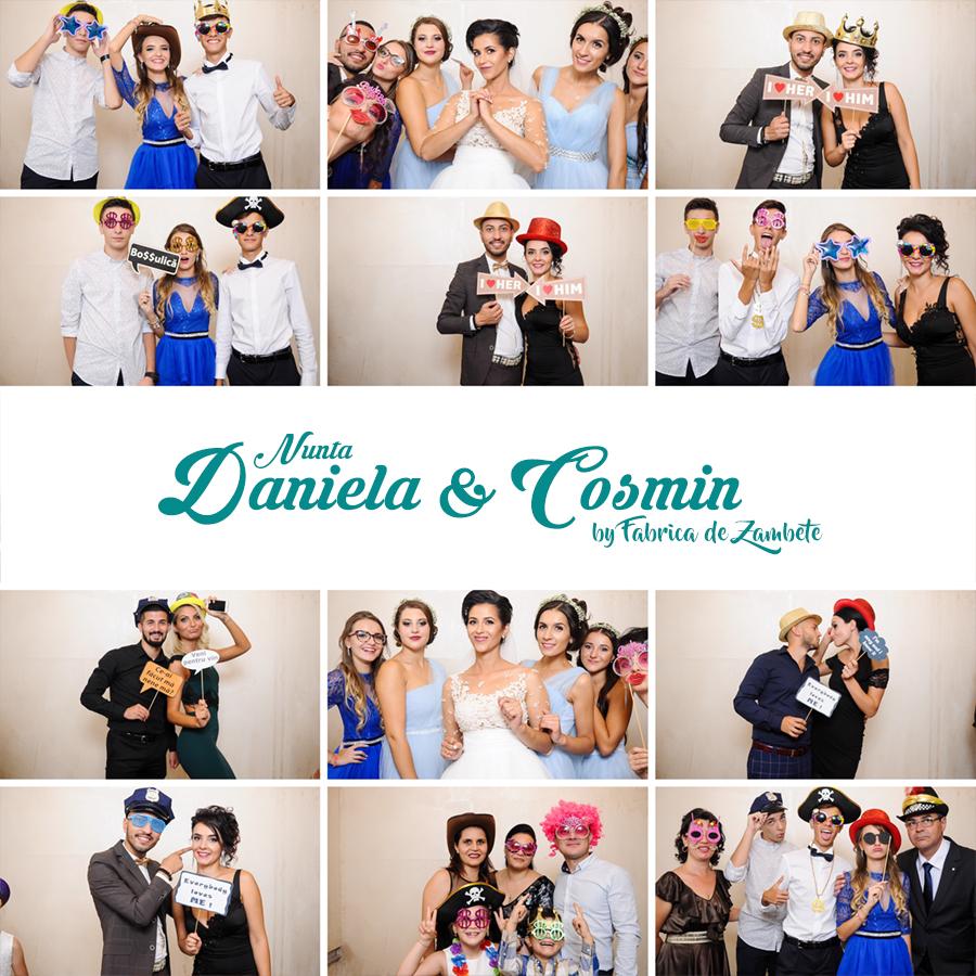 Cabina foto Craiova de inchiriat - Fabrica de zambete - Nunta Daniela&Cosmin