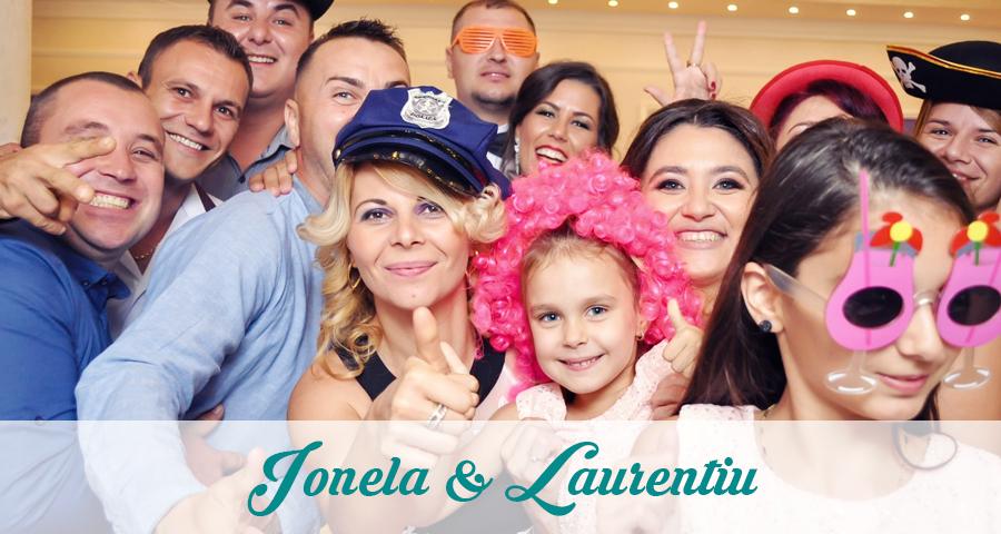 Cabina foto Craiova de inchiriat - Fabrica de zambete - Nunta Ionela & Laurentiu