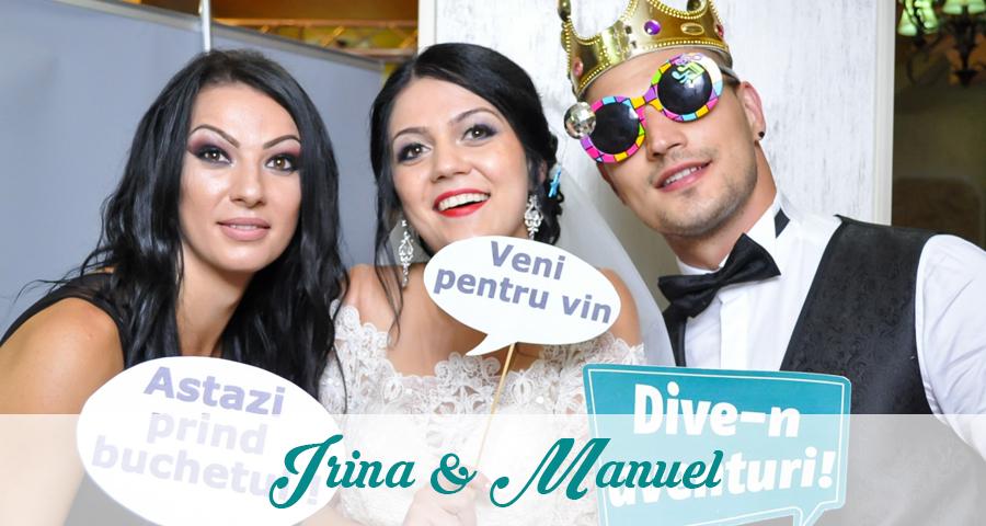 Cabina foto Craiova de inchiriat - Fabrica de zambete - Nunta Irina & Manuel