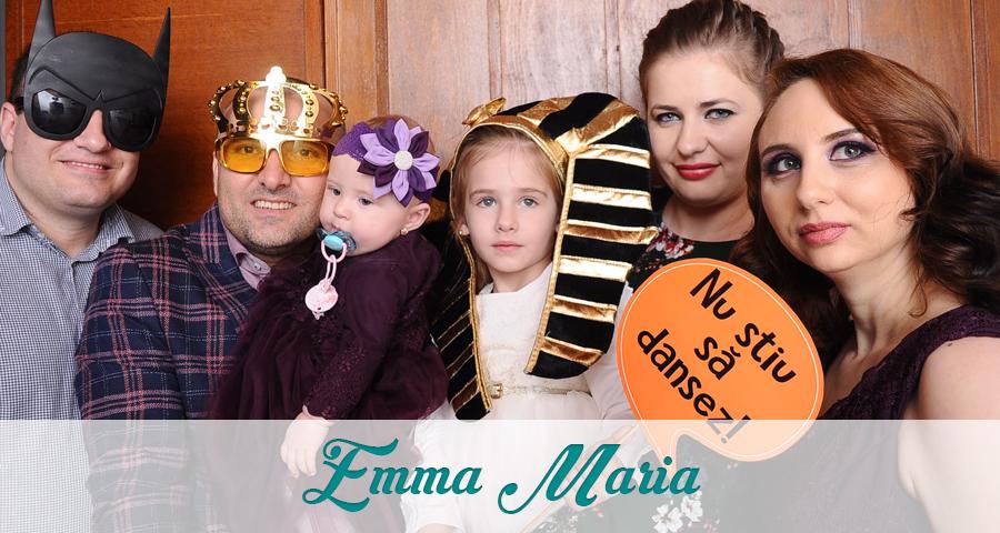 Cabina foto Craiova de inchiriat - Fabrica de zambete - Botez Emma Maria