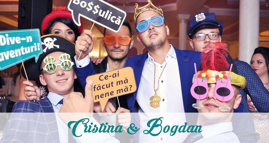 Cabina foto Craiova de inchiriat - Fabrica de zambete - Nunta Cristina si Bogdan