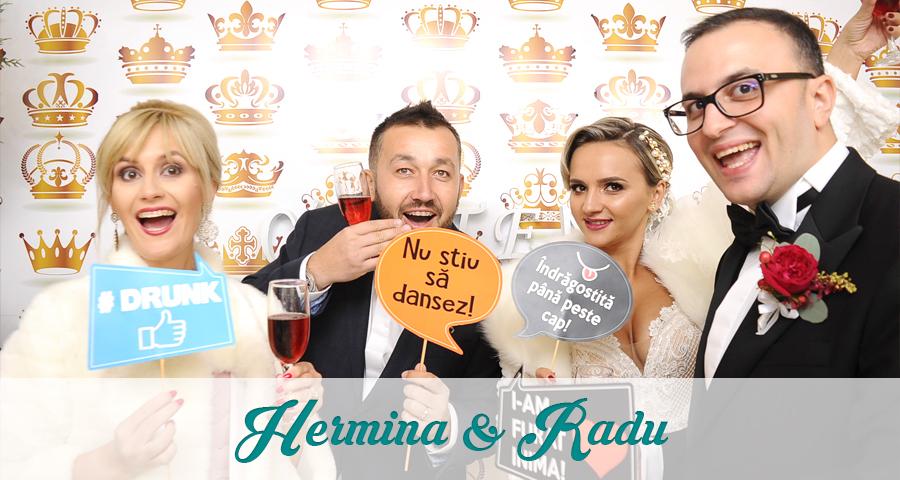 Cabina foto Craiova de inchiriat - Fabrica de zambete - Nunta Hermina si Radu