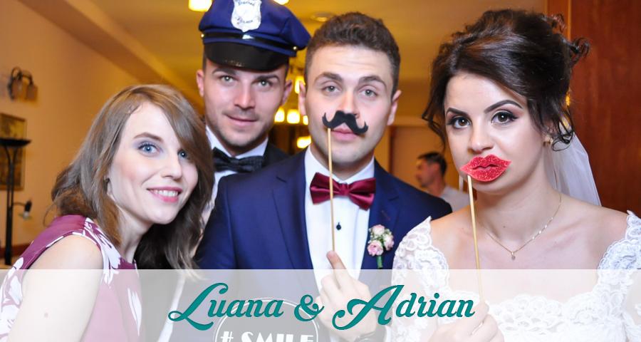Cabina foto Craiova de inchiriat - Fabrica de zambete - Nunta Luana &Adrian