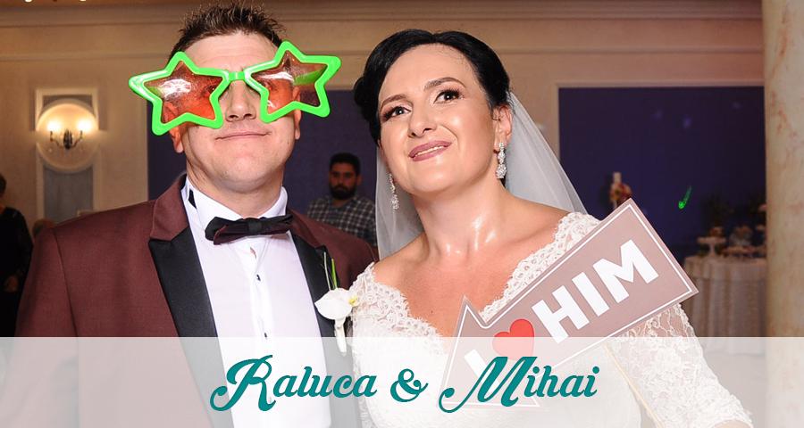 Cabina foto Craiova de inchiriat - Fabrica de zambete - Nunta Raluca si Mihai