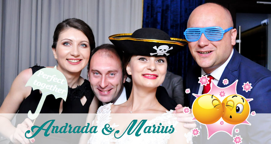 Cabina foto Craiova de inchiriat - Fabrica de zambete - Nunta Andrada si Marius