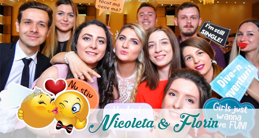 Cabina foto Craiova de inchiriat - Fabrica de zambete - Nunta Nicoleta si Florin