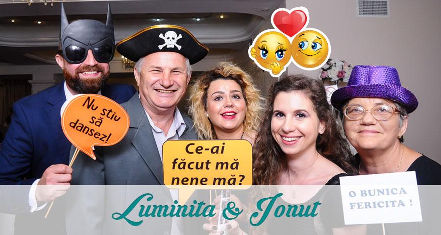 Cabina foto Craiova de inchiriat - Fabrica de zambete - Nunta Luminita si Ionut