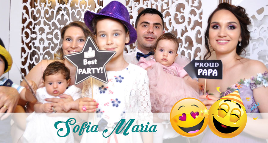 Cabina foto Craiova de inchiriat - Fabrica de zambete - Botez Sofia Maria