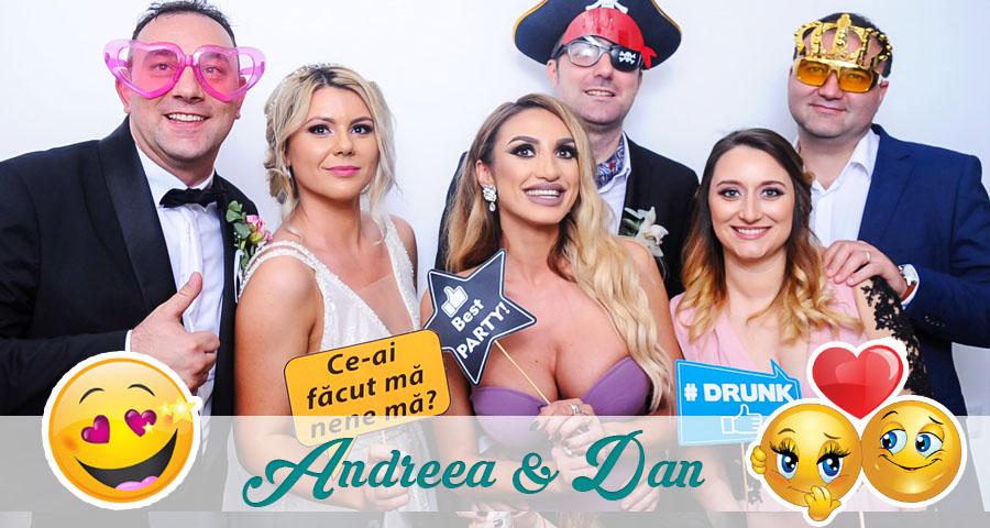 Cabina foto Craiova de inchiriat - Fabrica de zambete - Nunta Andreea & Dan