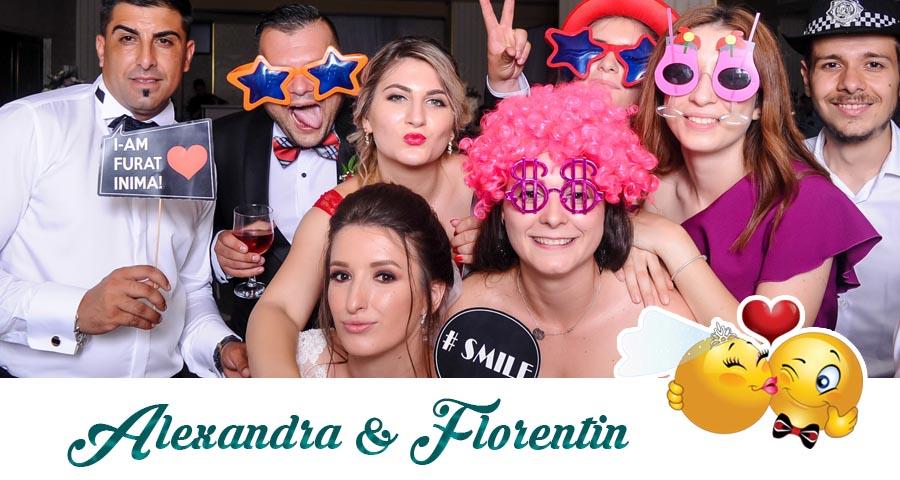 Cabina foto Craiova de inchiriat - Fabrica de zambete- Nunta Alexandra si Florentin