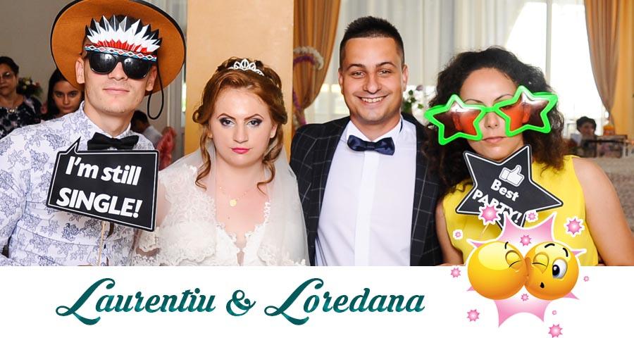 Cabina foto Craiova de inchiriat - Fabrica de zambete- Nunta Laurentiu si Loredana