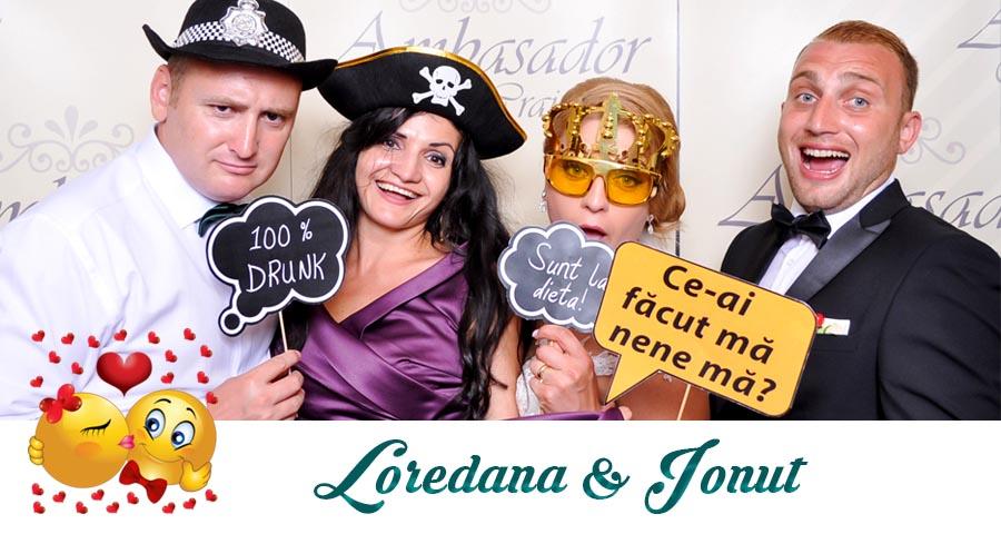 Cabina foto Craiova de inchiriat - Fabrica de zambete- Nunta Loredana si Ionut