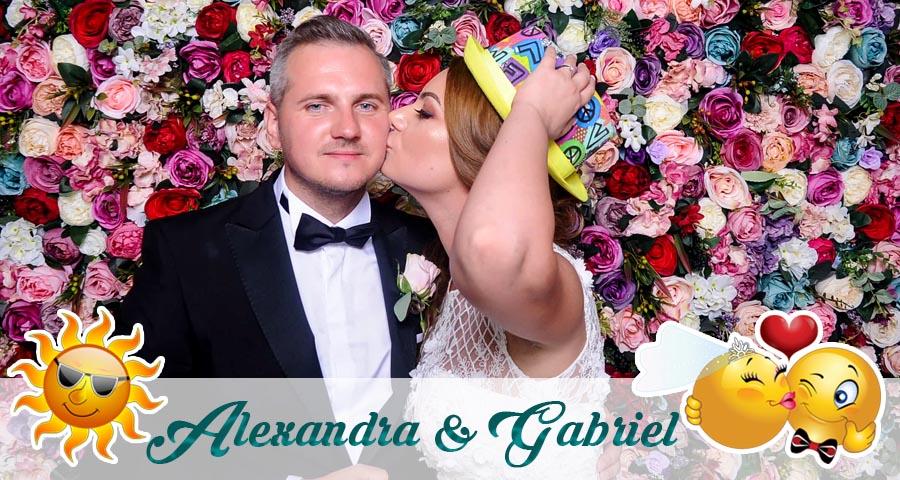 Cabina foto Craiova de inchiriat - Fabrica de zambete-Nunta Alexandra si Gabriel