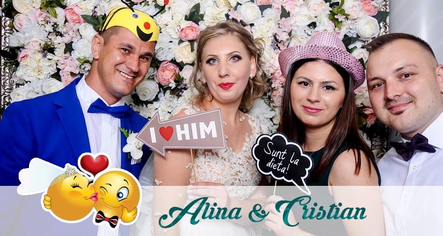 Cabina foto Craiova de inchiriat - Fabrica de zambete- Nunta Alina si Cristian