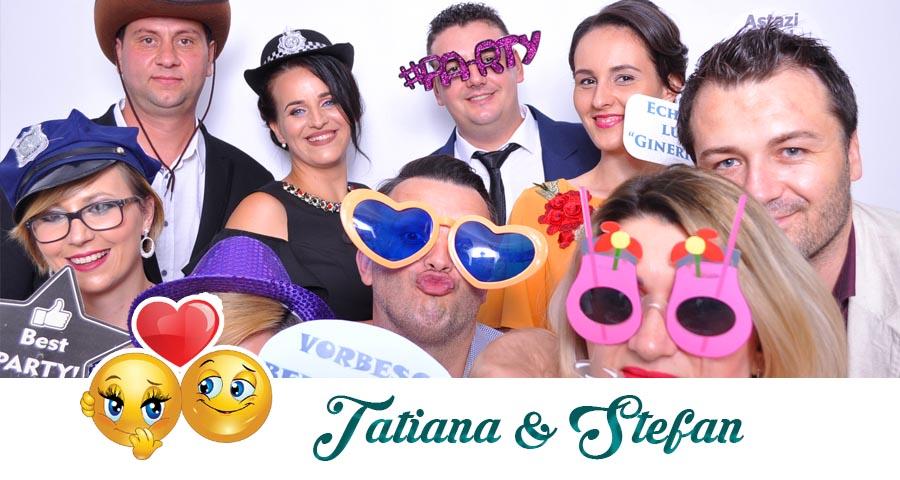 Cabina foto Craiova de inchiriat - Fabrica de zambete- Nunta Tatiana si Stefan