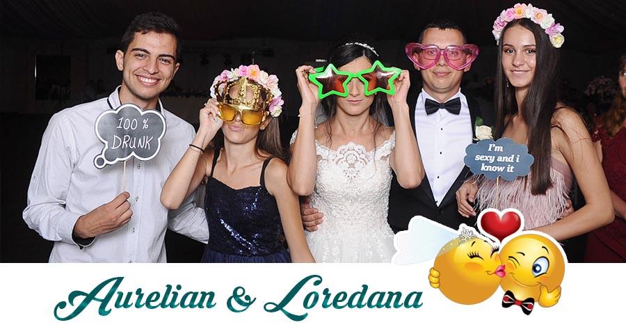 oferta pret Cabina foto Craiova de inchiriat - Fabrica de zambete- Nunta Loredana si Aurelian