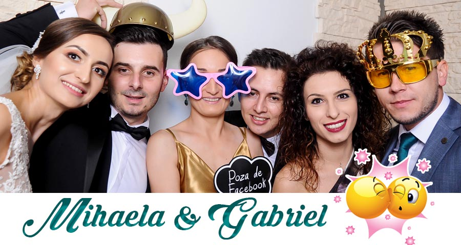 oferta pret Cabina foto Craiova de inchiriat - Fabrica de zambete- Nunta Mihaela si Gabriel