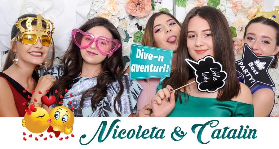 oferta pret Cabina foto Craiova de inchiriat - Fabrica de zambete- Nunta Nicoleta si Catalin