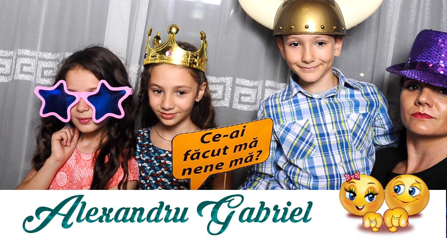 oferta pret Cabina foto Craiova de inchiriat - Fabrica de zambete- botez Alexandru Gabriel