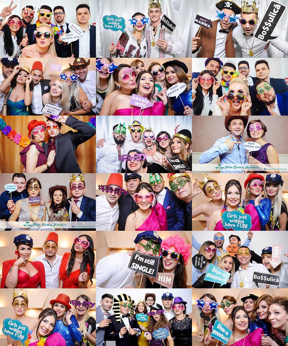 Fotografii cabina foto Craiova de inchiriat Fabrica de Zambete pentru nunta,botez,majorat,petreceri private si petreceri firme.