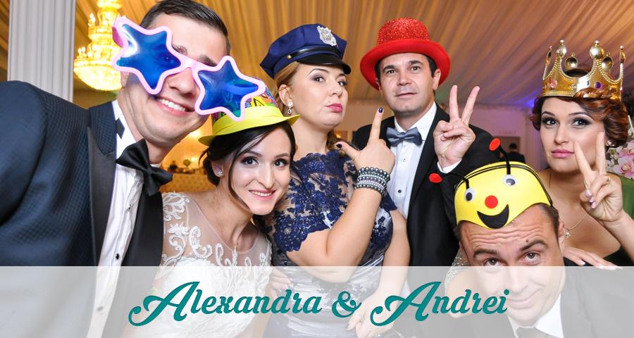 Cabina foto Craiova de inchiriat - Fabrica de zambete - Nunta Alexandra & Andrei