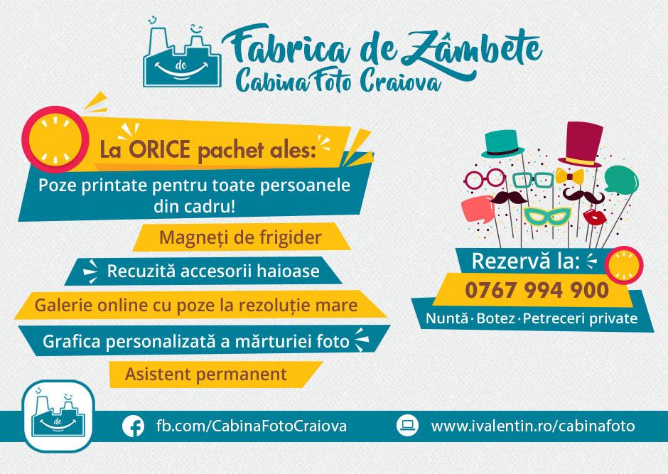 Oferta pret cabina foto de inchiriat Craiova Fabrica de Zambete