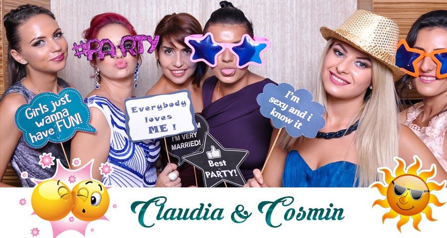 oferta pret Cabina foto Craiova de inchiriat - Fabrica de zambete- Nunta Claudia si Cosmin