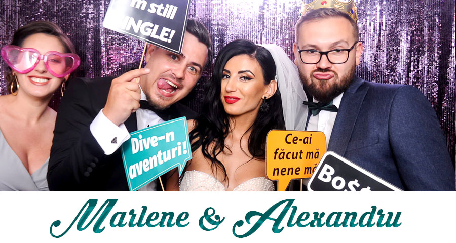 oferta pret Cabina foto Craiova de inchiriat - Fabrica de zambete- nunta Marlene si Alexandru