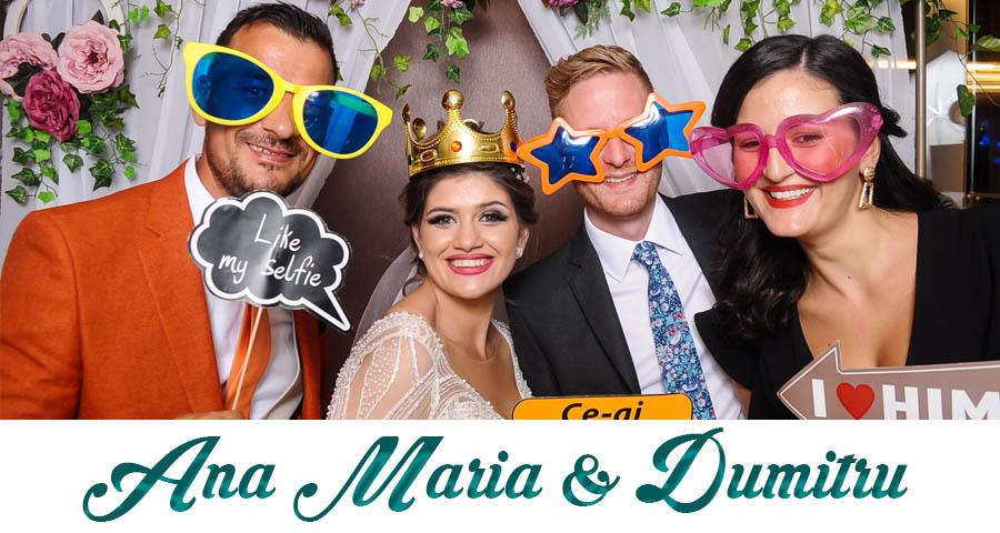 pret Cabina foto Craiova de inchiriat - Fabrica de zambete- nunta Ana Maria si Dumitru