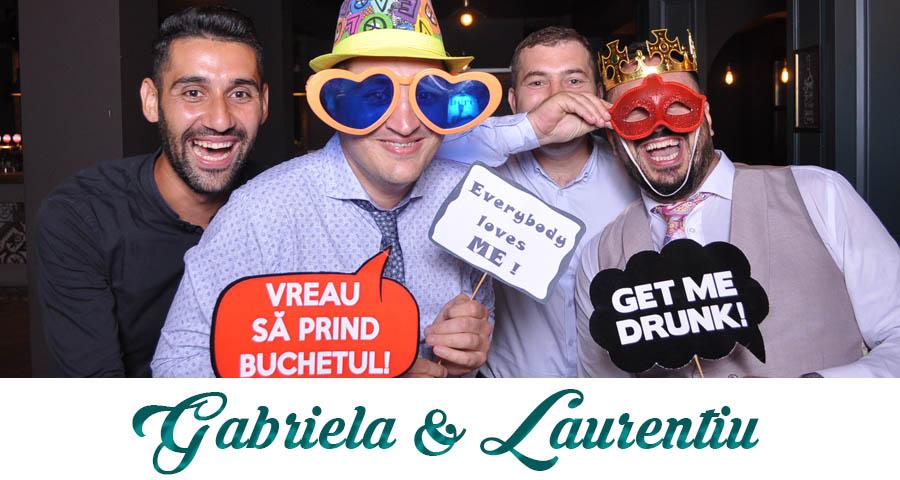 pret Cabina foto Craiova de inchiriat - Fabrica de zambete- nunta Gabriela si Laurentiu