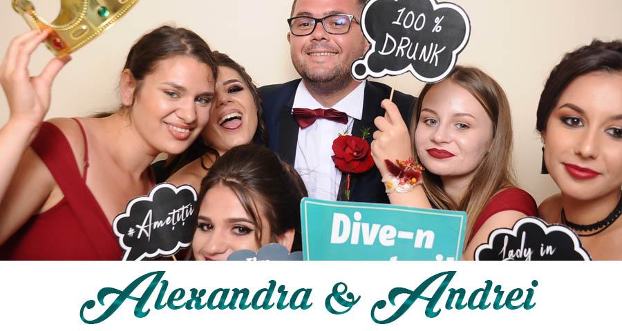 pret Cabina foto Craiova de inchiriat - Fabrica de zambete- nunta Alexandra si Andrei