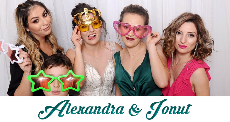 pret Cabina foto Craiova de inchiriat - Fabrica de zambete- nunta Alexandra si Ionut