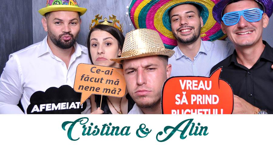 pret Cabina foto Craiova de inchiriat - Fabrica de zambete- nunta Cristina si Alin