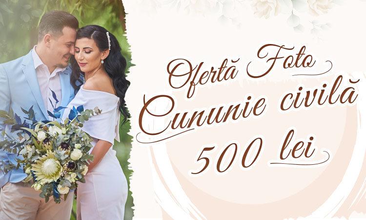 Oferta de pret fotograf Craiova cununie civila nunta, Valentin Ieremiea